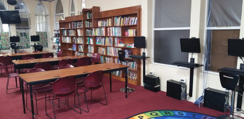 Newly Renovated NUIA Library Reopens